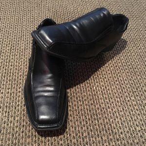 Men's Size 13 black Dexter dress shoes